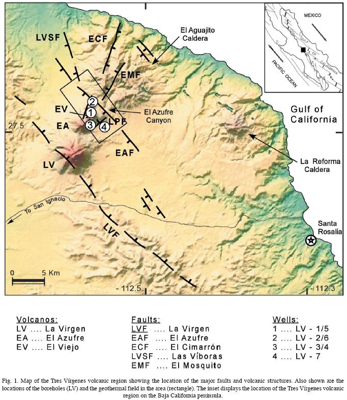 Seismicity focal mechanisms and stress distribution in the tres baja california peninsula figure 1 sciox Gallery