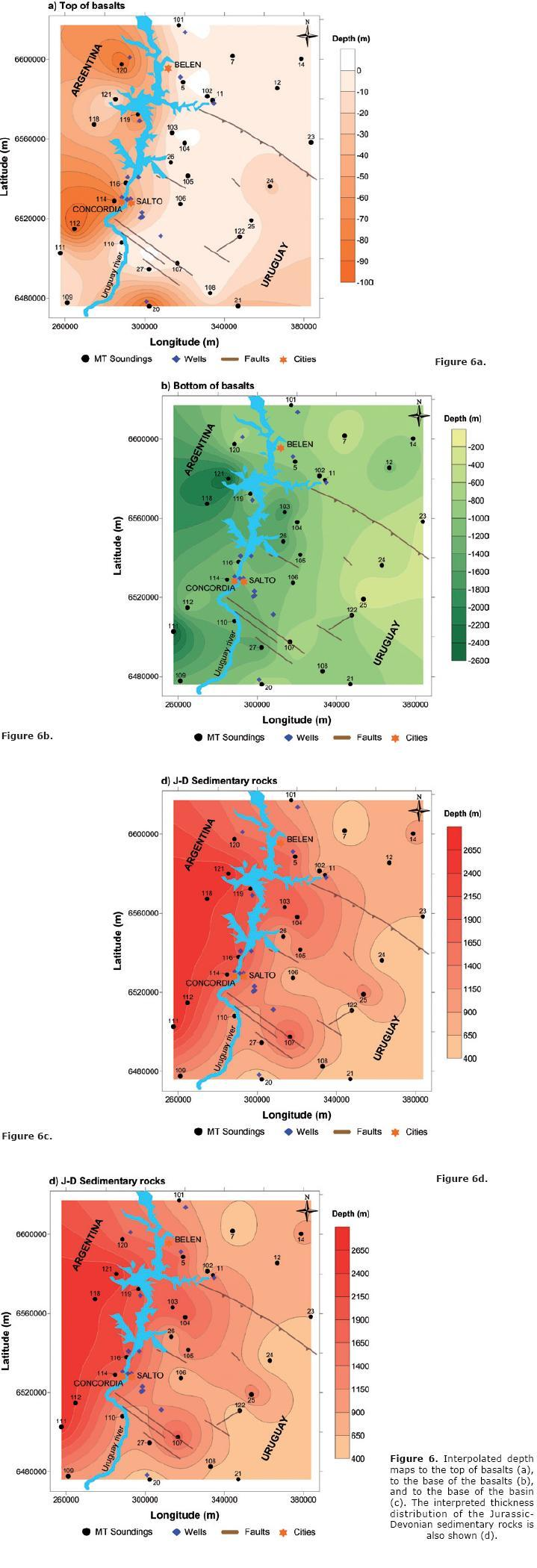 Structure of the guaran aquifer in the surroundings of the uruguay the results are shown in figure 6 publicscrutiny Images
