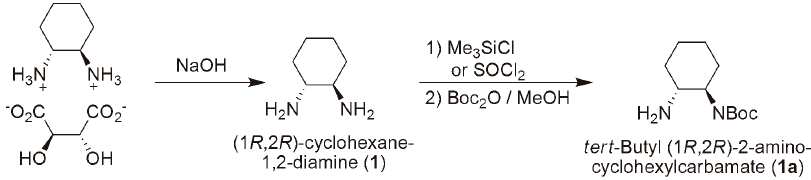 General Method for Selective Mono-Boc Protection of Diamines